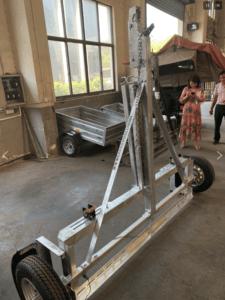 Car Dolly Vertical Storage