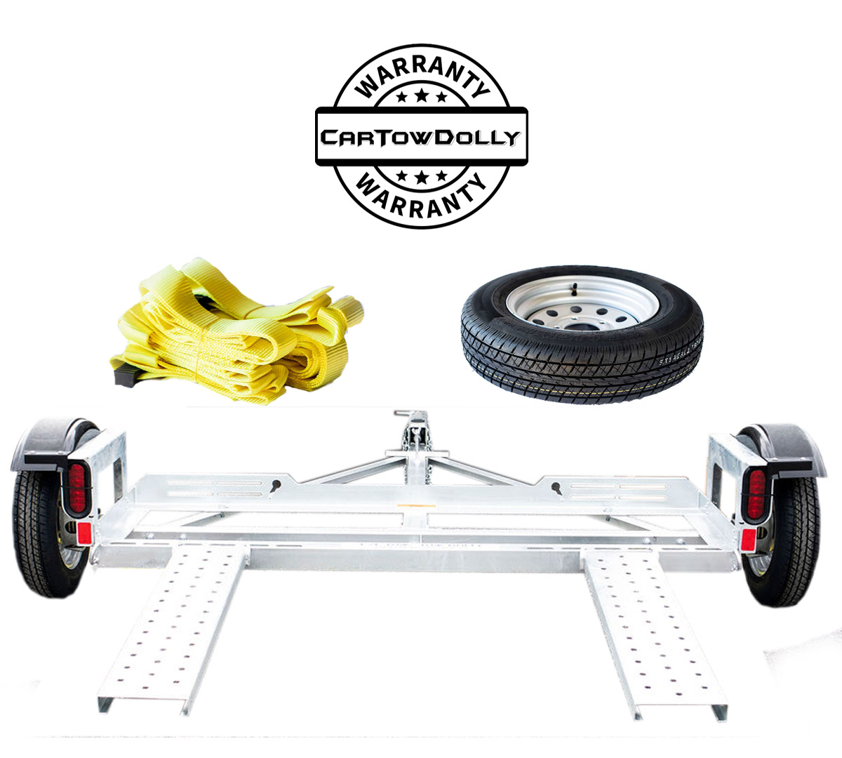 can a truck be towed on a tow dolly