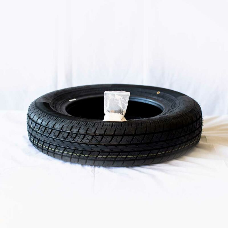 Spare Tire Only (Balancing beads & Filtered valve stem included)