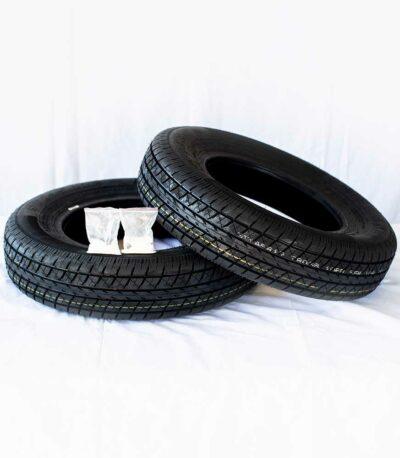 2 Tires w/ Balancing