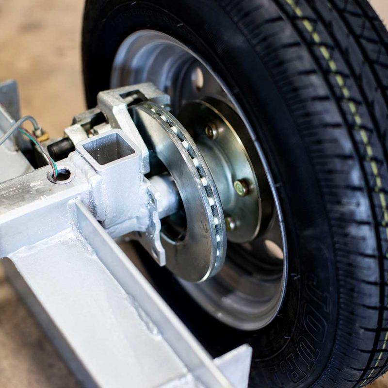 8 inch Disc Brake Assembly