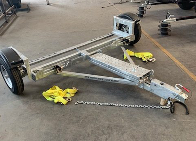 how much does a car tow dolly cost