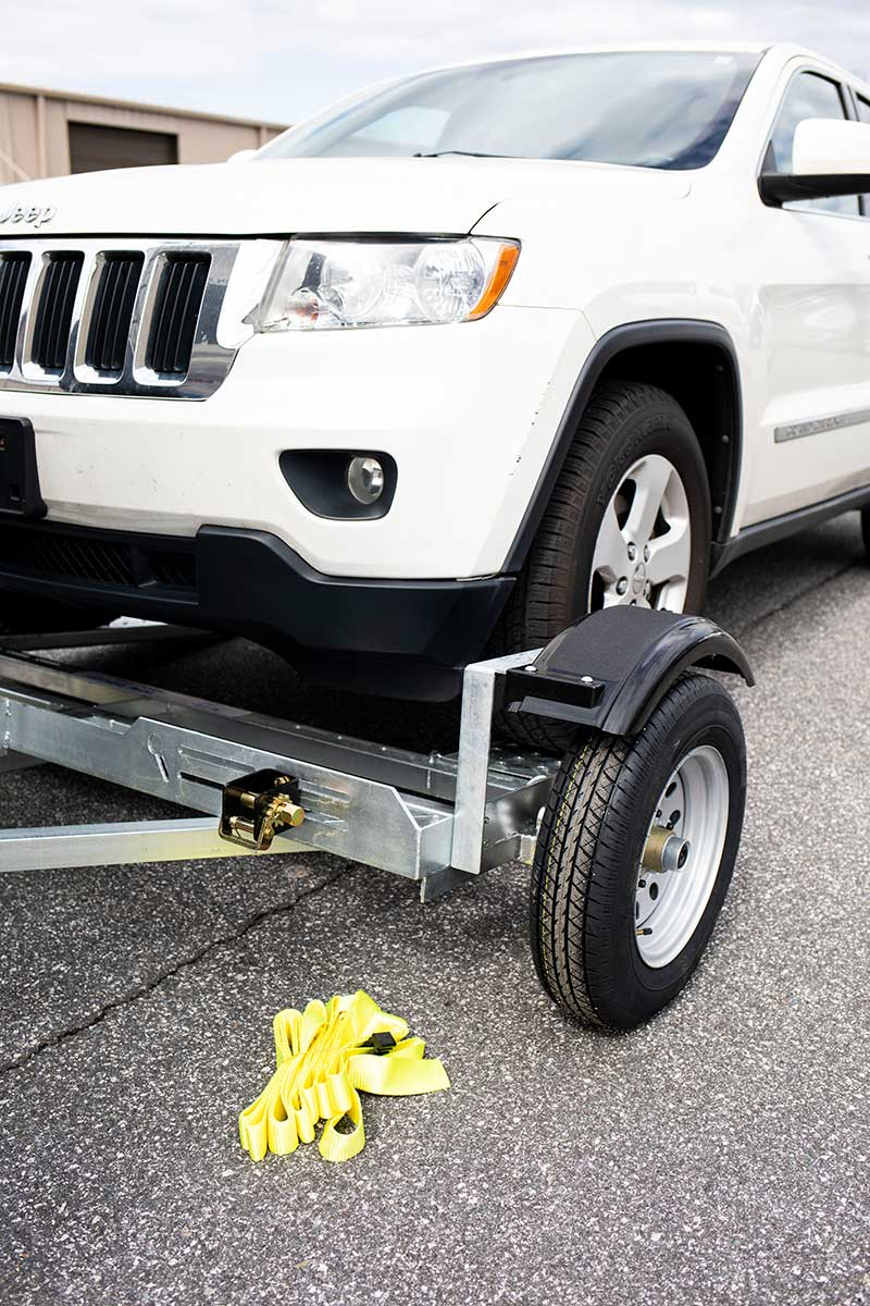How to Load A Car on A Tow Dolly