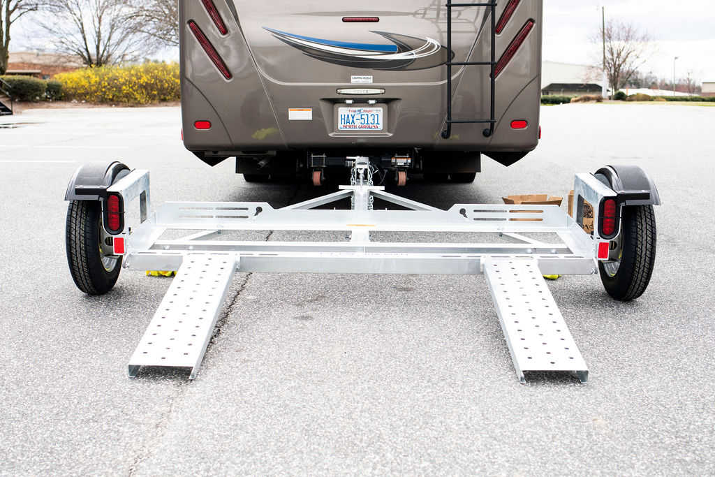 How to Park with a Car Tow Dolly