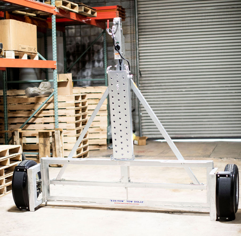 What's the Size of a Car Tow Dolly?