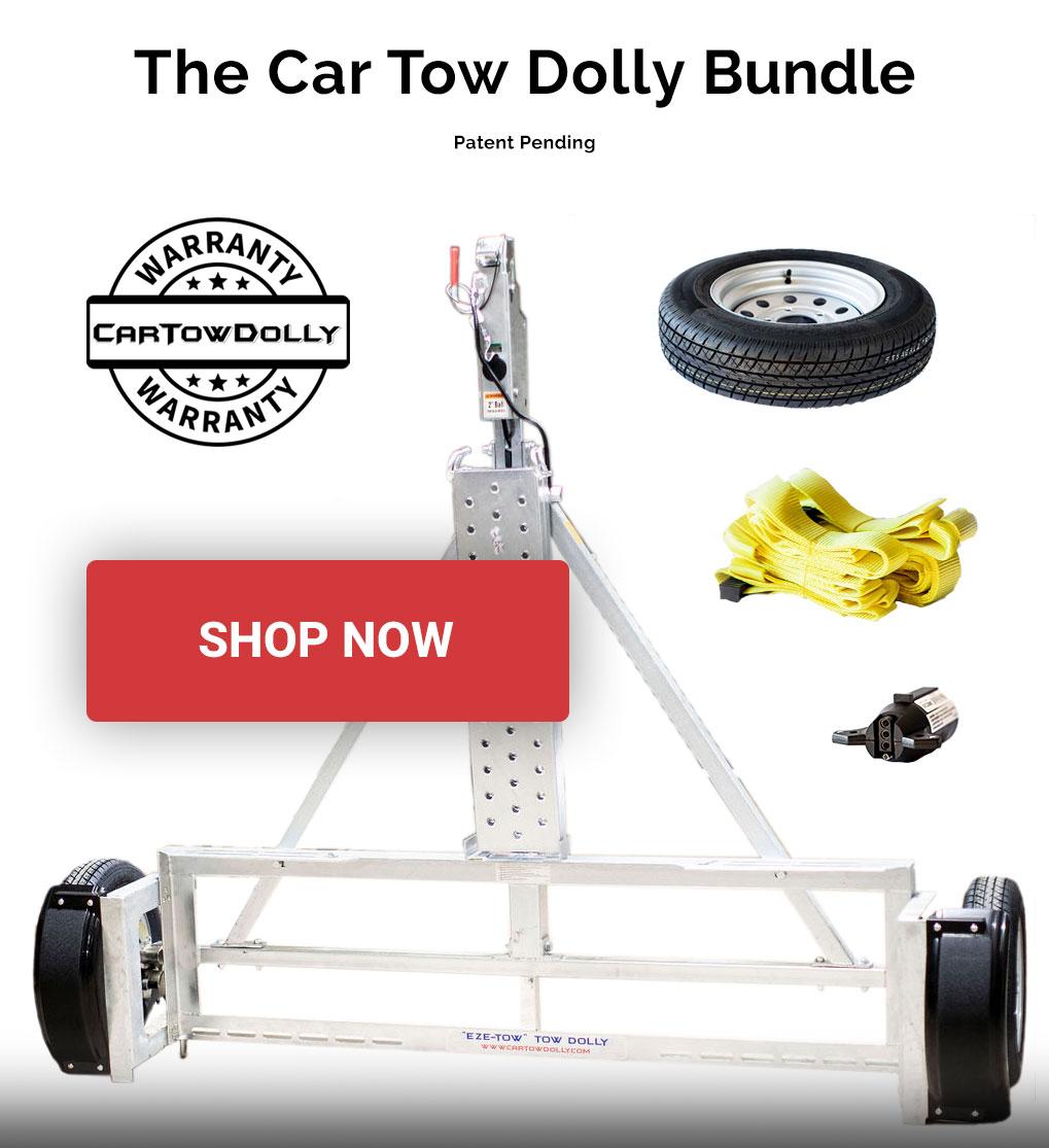 Car tow dolly bundle